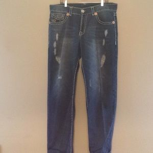 True Religion Brand Straight Cut Jeans